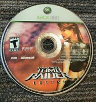 Lara Croft Tomb Raider Legend -- XBox 360 Game only, good condition, disc only