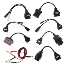 8 Pcs OBD OBDII Cables For CDP TCS HD Pro Cars Diagnostic Interface Scanner Tool