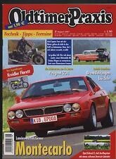 Oldtimer Praxis 8/07 Kreidler Florett Peugeot 204 Opel Record C Ariel Square Fou