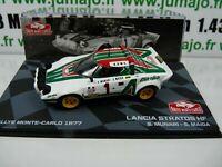 RMIT3H 1/43 IXO Rallye Monte Carlo  : LANCIA STRATOS HF 1977 S.Munari / S. Maiga