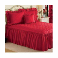 Mayfield Quilt Top Bedspread  in Red - Full