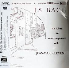 J-M. CLÈMENT - J.S.BACH - CELLO SUITES -  ANALOGPHONIC LP 43064 - SOL 60016/17