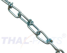 50m Knotenkette K16 - 1,6mm DIN 5686 Knoten Kette verzinkt Lampenkette