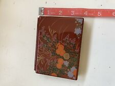 Japanese Tissue Holder Hard Case Laquer Style