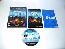 HEADHUNTER REDEMPTION complete with box and manual PS2 Playstation 2 game PAL