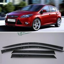 For Ford Focus Sd/Hb 2012-2016 Window Visors Side Sun Rain Guard Vent Deflectors
