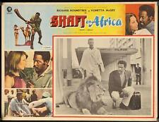 L618 Shaft in Africa, Mexican movie Lobby card 1973, Richard Roundtree