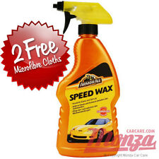 ArmorAll Car / Motorbike Carnauba **HIGH GLOSS** Speed Wax **2x FREE CLOTHS**