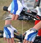 Motorcycle Cycling Gloves Bicycle Gel Silicone Half Finger Fingerless Gloves
