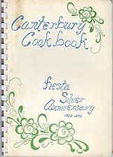 Canterbury UMC Fiesta Cookbook 1978 Mountain Brook Alabama Silver Anniversary