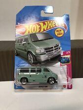 Hot Wheels #50 Green Dodge Van New For 2021 HW Drift 2/5