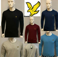 LYLE AND SCOTT LONG SLEEVE CREW NECK JUMPER (SWEATER) FOR MEN PERFECT FOR WINTER