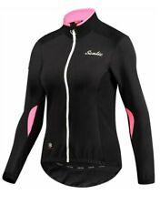 Santic Women's Cycling Jacket Bike Riding Jersey Small Black NEW