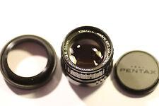 Pentax Asahi 1:2 .8 - 110 50 mm Lente 1207214 & Filtro Skylight & Capucha