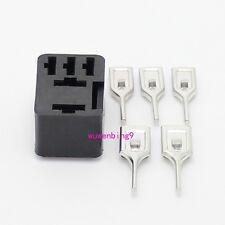 10 sets - PCB auto relay socket 5pin car relay holder pcb terminal
