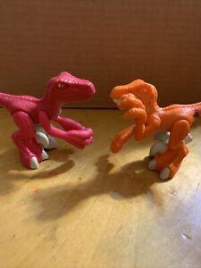 "Playskool Jurassic Park Jr T-Rex 12"" Electronic Action Figure Set 2 K13"