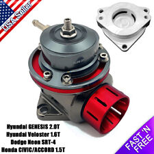 FV Blow off Valve 40mm BOV with Adapter Flange SRT-4, Civic 1.5T, Genesis 2.0T