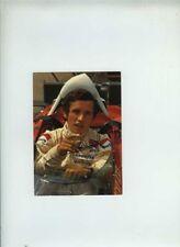 Jacky Ickx Ferrari F1 Portrait Signed Vintage Postcard Cartolina 2