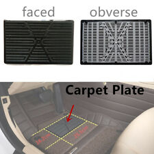 Custom Fit Black Car Floor Scuff Guard PVC Mat Carpet Plate With Premium Quality