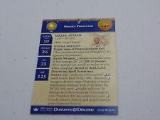 D&D DUNGEONS & DRAGONS MINIATURES GOLDEN PROTECTOR PROMO EPIC CARD HC498