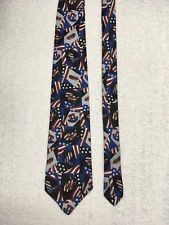 American Pop Hot Dog Patriotic Necktie Tie