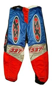 Vtg BMX Racing Pants Sz 30 Schwinn 327 XS Protective Pads Retro Motocross Biking