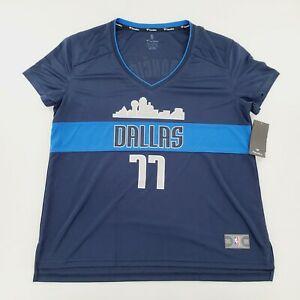 Dallas Mavericks Luka Doncic Fanatics Fast Break Jersey NBA Womens Size XL NWT