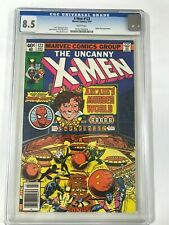 X-MEN # 123 CGC 8.5 - Spider Man Appearance -