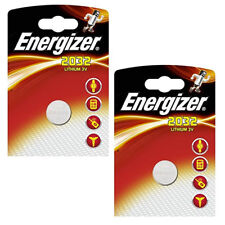 2 x ENERGIZER CR2032 BATTERY 3V LITHIUM BUTTON COIN BATTERIES BR2032 L14 2032