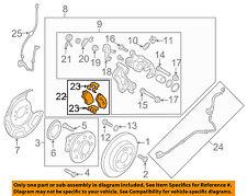 HYUNDAI OEM 12-14 Accent Brake-Rear Pads 583021RA30