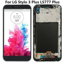 For LG Stylo 4 stylus 2 3 Plus LCD Display Screen Touch Digitizer Assembly Frame