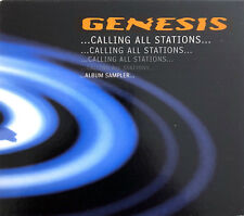 Genesis CD ...Calling All Stations... Album Sampler... - Promo - Europe (EX+/M)