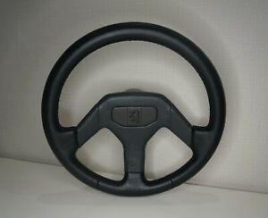 Classic OEM Peugeot 205 GTI 405 MI16 Leather Steering Wheel New Leather