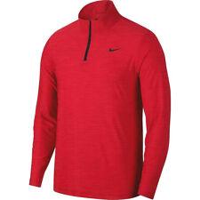 Nike Mens Breathe Dry 1/4 Zip Training Pullover 2XLT, 3XL, 3XLT, 4XL Red
