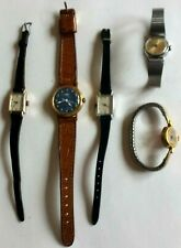 Mixed Lot of 5 Ladies Vintage Timex Mechanical Wind Watches - Lot #15