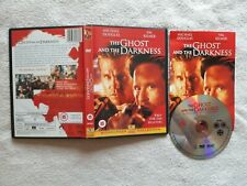 Ghost And The Darkness DVD RARE UK R2 Michael Douglas Val Kilmer KILLER LIONS