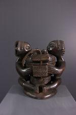 STATUE LUBA AFRICAN ART AFRICAIN PRIMITIF ARTE AFRICANA AFRIKANISCHE KUNST **