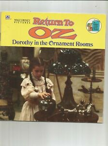 Vintage Disney Return To Oz Dorothy In The Ornament Rooms Book A Golden Look