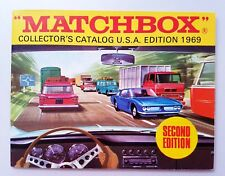 Lesney MATCHBOX Superfast Diecast Collectors Catalog 1969 U.S.A. Second Edition