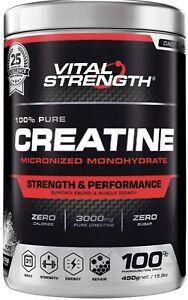 VitalStrength 100% Pure Creatine 450g