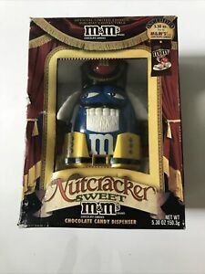 Blue M&M's Nutcracker Sweet Candy Dispenser SPECIAL LIMITED EDITION NEW in box