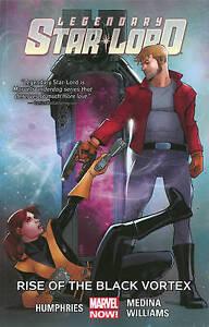 Legendary Star-Lord Vol. 2: Rise of the Black Vortex (English) Paperback
