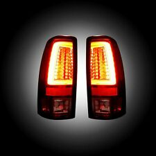 RECON 264373RD Chevy Silverado GMC Sierra 99-07 Red Tail Lights LED
