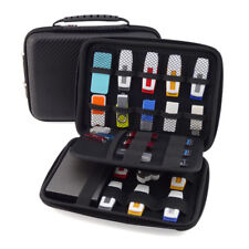 EG_ Portable Hard Drive Disk Storage Case Box USB Disk Power Bank Bag Organizer