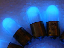 50pcs Blue Neon Light Bulb, Indicator