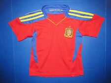 Spain youth soccer jersey Campeones Del Mundo 2010 World Cup Football RFCF shirt