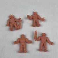 Mattel Vintage M.U.S.C.L.E. Muscle Men, Lot of 4 action figures
