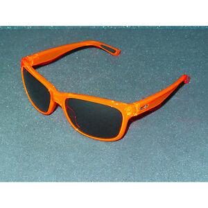 New Oakley Forehand Sunglasses Neon Orange/Black Iridium Women's Retro Sport USA