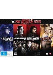 The WWE - Big 4 2015 (DVD, 2016, 7-Disc Set) brand new sealed!