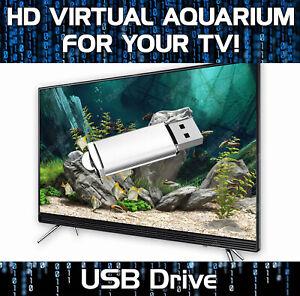 HD VIRTUAL FISH TANK AQUARIUM FOR YOUR TV!  - 1080p HD RESOLUTION